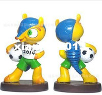 Wholesale 2014 new Factory outlets Cup Brazil World Cup mascot mascot toys and gifts
