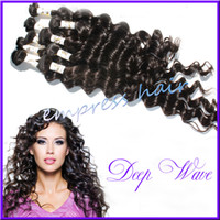 Deep Wave Brazilian Hair Human Hair Unprocessed Brazilian Deep Wave Virgin Hair Grade 5A 100% Human Hair, Can Be Dyed Or Bleached Again