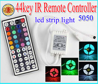 Free shipping 12V 44 Keys IR Remote Controller for RGB SMD 5...