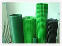 cage wire - PVC coated Welded wire Mesh fencing making of wire cages