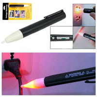Wholesale S5Q New Cheap Pen Tester Detector Pen Non Contact AC V Electrical Voltage Tester Sensor New AAAAFX