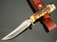 Wholesale SCHRADE UNCLE HENRY GOLDEN SPIKE HUNTING KNIFE UH