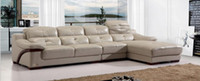 Wholesale modern leather corner sofa soild wood sofa LiangBoShi sofa furniture