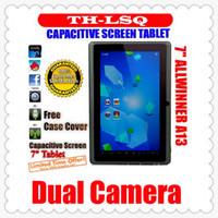 Wholesale DHL A23 Cheap Q88 quot PRO Dual Core Epad Tablet PC Android Allwinner MB GB GHZ JP7