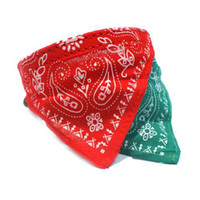 Wholesale S9Q Adjustable Pet Dog Puppy Cat Neck Scarf Bandana With Collar Neckerchief New AAABAV