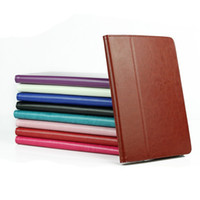 Wholesale Crazy Horse Folding Pouch Cover with Pen Holder leather cover for Asus MeMo Pad ME102A PC