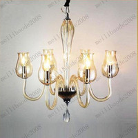 Wholesale New Contemporary Murano Glass Crystal Chandelier Light Pendant Lamp Ceiling Light Dia cm MYY7585