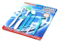 Wholesale Buy a toothbrush to send a dental mirror a tongue brush an interdental brush floss a teether