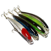 Wholesale S5Q x cm Barbed Fishing Lures Tackle Hooks Sea Minnow Bait Rattling Jerkbaits AAAAIU