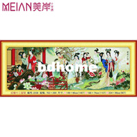 Wholesale Cross stitch paintings xueqin nobile print fabric
