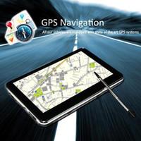 Wholesale S5Q quot LCD Touch Screen FM Free Maps Sat Nav Car MP4 GPS Navigation Navigator AAAAVN