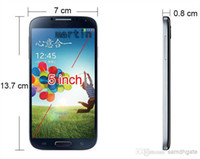 Wholesale S4 I900 phone Android MINI lcd S4 jelly bean GB ram MTK6572 Dual core I9500 WIFI GPS Free gifts