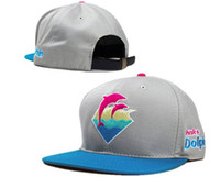 Wholesale mens fashion hat cool summer Pink Dolphin cap adjustable hats cheap Pink Dolphin snapbacks