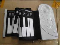 Wholesale 10pc key soft piano hand rolled Piano Folding Piano silicone piano portable keyboard