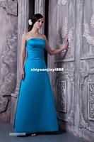 Wholesale 2014 Elegant Strapless Hot waist party dress wedding bridesmaid dress toast clothing manufacturers Factory Drop Ship