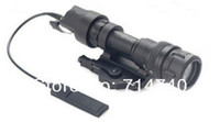 Wholesale QD SureFire M952V Dual Output LED Weapon Flashlight Black