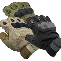 Cycling airsoft gloves - Outdoor Sports Fingerless Military Tactical Airsoft Hunting Cycling Bike Gloves Half Finger Gloves