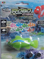 Wholesale Hot selling automatically swim robo fish color a Fedex