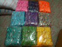 Hair Rubber Bands   rainbow loom rubber bands DIY loom rubber Bracelet 1000sets lot