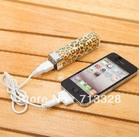 Emergency / Portable   Manufacturers wholesale lipstick gift mobile power cell phone charging treasure 2500 ma low