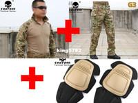 army bdu - Emerson bdu G3 Combat uniform shirt Pants knee pads Military Army uniform MultiCam suit