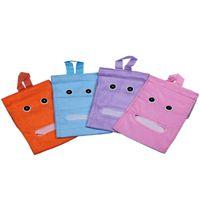 Wholesale Household Plush Tissue Bags Napkins Bag Box Blue Pink Choose ZGC