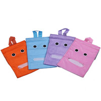 Wholesale Purple Plush Tissue Bags Napkins Bag Box Colorful Choose ZGC