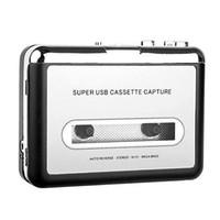 Wholesale S5Q Tape to PC Capture Music Super Cassette To MP3 Converter USB Recorder Player AAAASI