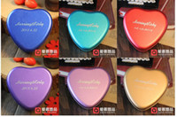 Wholesale 50Pcs Wedding Favors Six Color Personality Customization Name And Date Heart Candy boxes Tin Wedding Loverly Best Selling