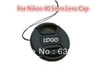 Wholesale 52 mm Lens Cap With LOGO For Nikon MM LC D5200 D5100 D5000 D3100 D3200 D3000 D60 D40X D40 D50 VIA