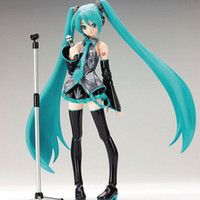Wholesale retail figma sexy anime action toy figure Hatsune Miku MIKU hand movable doll model