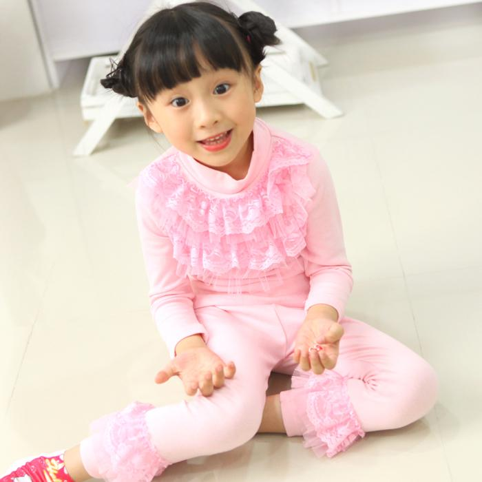 Retail/Wholesale Girl Pink Bud Silk Pajamas Two Piece Fit Age 2 To ...