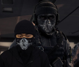 Wholesale New High Quality Ghost Ski Half Face Mask For Call of duty Ghosts Knit Cotton Cap
