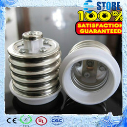 Wholesale quality guarantee E40 to E27 lamp holder adapter converter E27 to E40 adapter converter New s