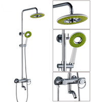 Wholesale Bath bathroom shower set faucet mixer tap with shower rain shower faucets