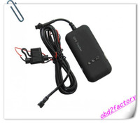 Wholesale Mini Car Tracker GPS GSM GPRS Tracking Device TK110 gt02 H free post shipping