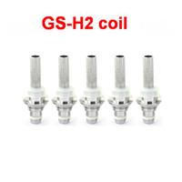 Electronic Cigarette Atomizer Core  GS-H2 Clearomizer coil H2 Atomizer coil GS H2 Atomizer replacement Coil GS-H2 Clearomizer Detachable Head Core e cigarette Free Shipping
