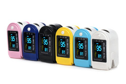 Wholesale Promotion NEW Color OLED Fingertip Pulse Oximeter Spo2 Monitor colors