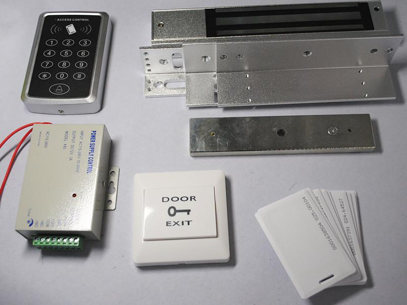 125khz Rfid Door Lock Access Control System Em4100 Thick