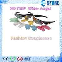 None No  video recorder Real HD 720P Camera+170 degrees wide Angle + 5.0 Mega pixel Sunglasses DVR Eyewear hidden camera New H.264 wu