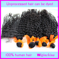 kinky curl  Mongolian Hair 10