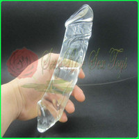 Non-Latex   Wholesale - Crystal Penis,large dildo glass,Female masturbation,Sex Toy,Sex products,Adult toy