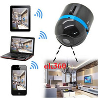 Wholesale World s Smallest Wifi Wireless Mini Surveillance Camera IP Cam Ai ball NEWEST