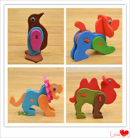 Wholesale Best selling Toys Funny Traditional Educational Animal Puzzle No Any Harm to Children d Puzzle Educational Toys for Children
