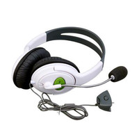 Wholesale S5Q Deluxe Stereo Headphone Headset Earphone Microphone Mic For XBOX Live AAAAMC