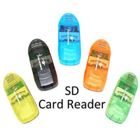 Wholesale S5Q x USB SDHC SD Card Reader Adapter For PC Laptop Phone Digital Camera DV AAAABL