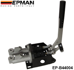 EPMAN High Quality Aluminum Vertical Hydraulic Handbrake Twin Cylinder With Master Cylinder EP-B44004 Have In Stock