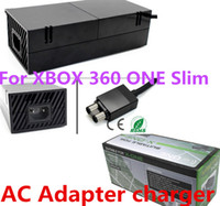 For Xbox   AC Power Adaptor for XBOX 360 ONE Slim game adapter accessory 220V AC Adapter power charger