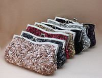 Party beaded handbag handles - Handmade Fashion Beaded Women s Evening Handbags Purse Briefcase Wedding Bridal Handbags