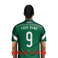 Wholesale Thai Quality Customized Soccer Jerseys Select Mexico World cup Home Green Jersey to Create Your Own Football Jerseys Soccer Jersey